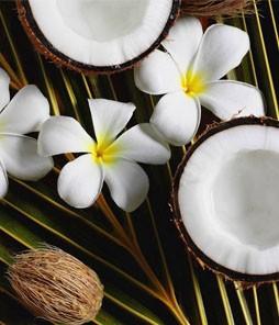 Массаж со 100% кокосовым маслом 60 мин